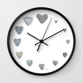 Heart rock gradation aka Rock around the clock! Wall Clock