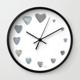Heart rock gradation aka Rock around the clock! Wall Clock