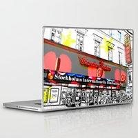 stockholm Laptop & iPad Skins featuring Stockholm Filmfest by Alan Hogan