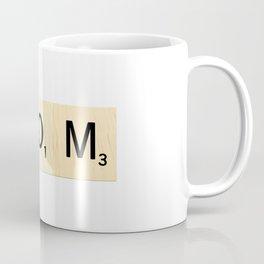 MOM - Mother's Day Scrabble Art Coffee Mug