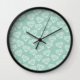 Shine Bright Like a Diamond Wall Clock