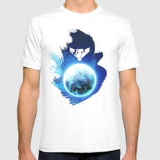 Metroid Prime 3: Corruption MEDIUM Mens Fitted Tee White