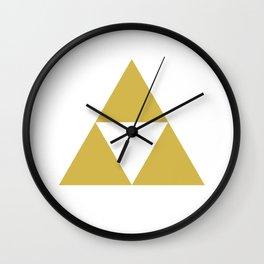 Zelda's Triforce Wall Clock