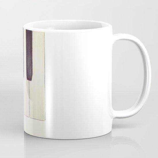 Ebony and Ivory Mug