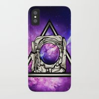 astronaut iPhone & iPod Cases featuring Astronaut by Pancho the Macho