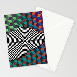 My Map Stationery Cards