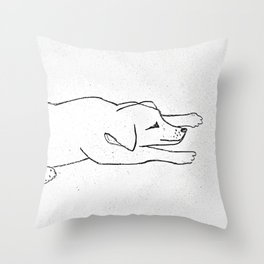 Mid-afternoon Naps Throw Pillow