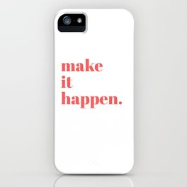 make it iPhone Case