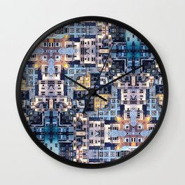 Community of Cubicles Wall Clock
