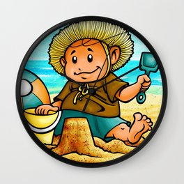 King of the Sand Hills Wall Clock