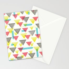 Wild Triangles Stationery Cards