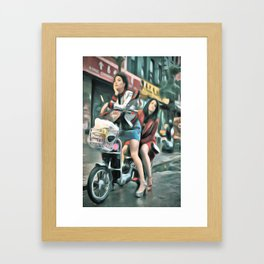 Broad City Framed Art Print