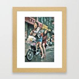 Broad City Framed Art Print