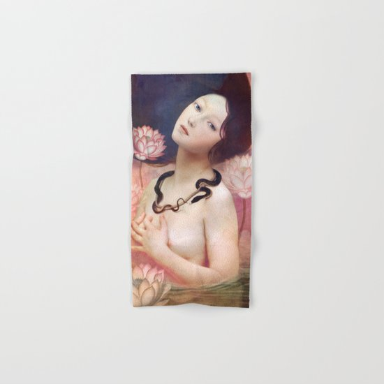 The Serpent Lake Hand & Bath Towel