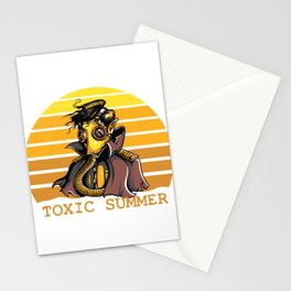 Toxic Summer Stationery Cards