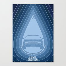 Lancia Montecarlo Canvas Print