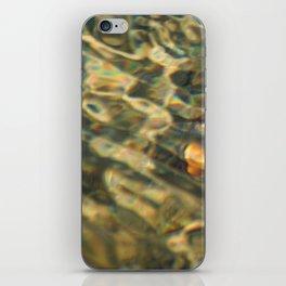 water pattern iPhone Skin
