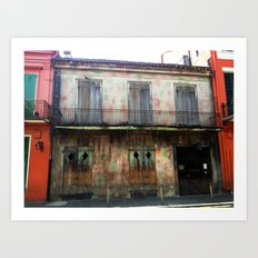 NOLA colors Art Print