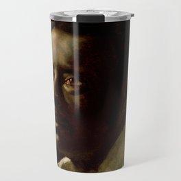 """Théodore Géricault """"Portrait Study"""" Travel Mug"""