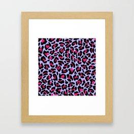Neonpard Framed Art Print