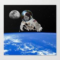 Jason Wing in orbit Canvas Print