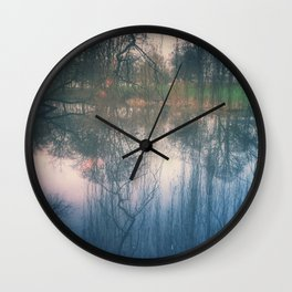 Under the weeping willow Wall Clock