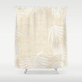 PALM LINEN Shower Curtain