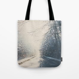 driving home for Christmas ... Tote Bag