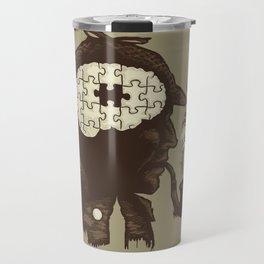 Puzzle Solved Travel Mug