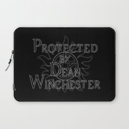 Protected by Dean Winchester Laptop Sleeve