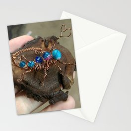 Copper Wire Scorpion Sculpture Stationery Cards