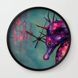 Dreaming In The Deep Wall Clock