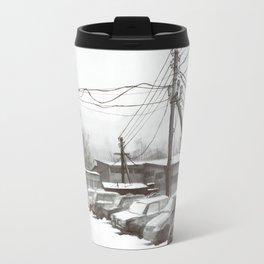 Dreary silence Travel Mug