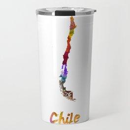 Chile in watercolor Travel Mug