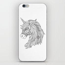 Decorative Unicorn iPhone Skin