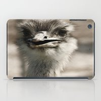 ostrich iPad Cases featuring Ostrich by Raymond Earley