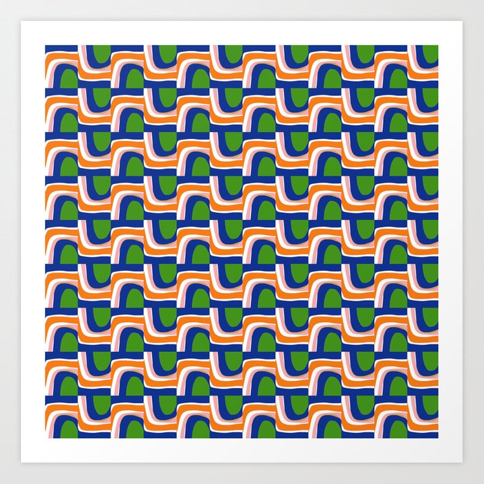 Under and Over Art Print
