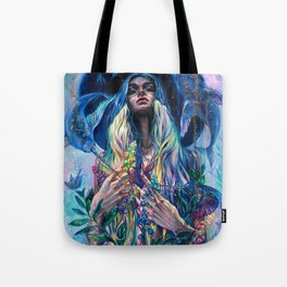 The Rustle of Narwhal's Wings Tote Bag