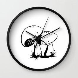 Cute mushrooms Wall Clock