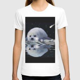 Destiny - Harp Seal Pup & Ice Floe T-shirt