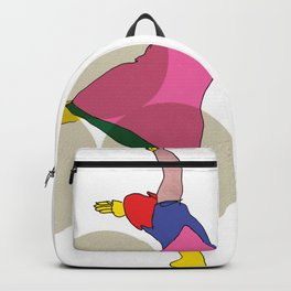 Abstrait Color Dance Backpack