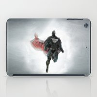 man of steel iPad Cases featuring The Man of Steel  by The Mimema