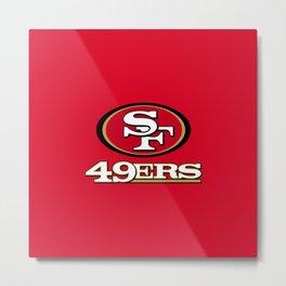 SF 49ERS Metal Print