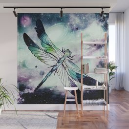 space dragonfly Wall Mural
