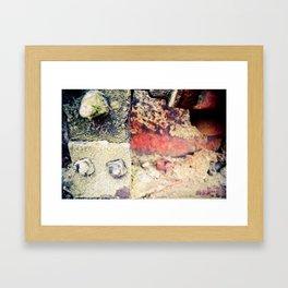 After time  Framed Art Print