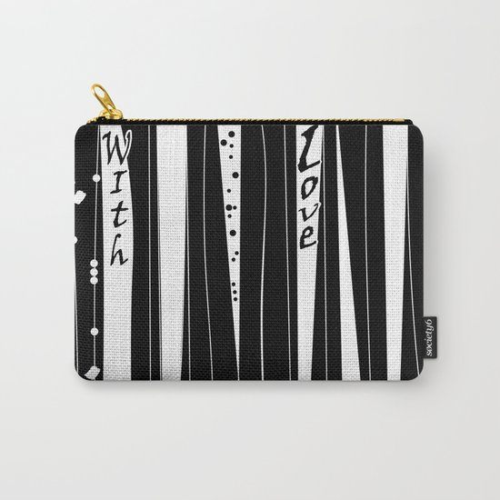 With love . Carry-All Pouch