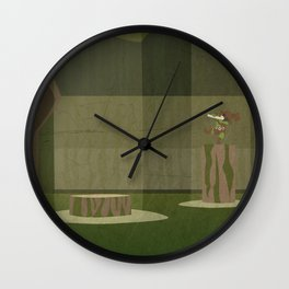 Lost Woods Wall Clock