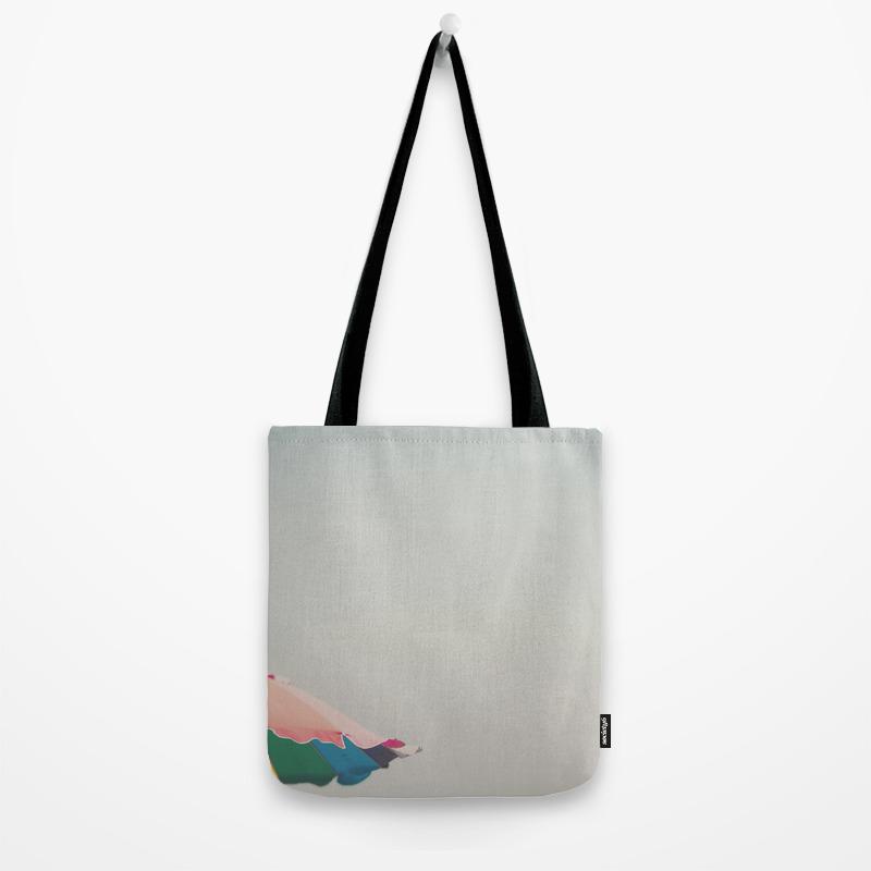 A Pretty Beach Umbrella Tote Bag