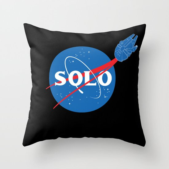 SOLO Throw Pillow