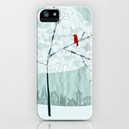 Lace Trees iPhone Case